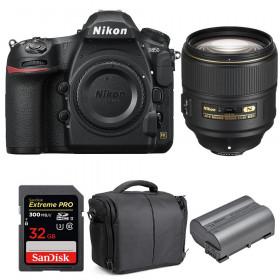 Nikon D850 + 105mm f/1.4E ED + SanDisk 32GB Extreme PRO UHS-II SDXC 300MB/s + EN-EL15b + Camera Bag | 2 Years Warranty