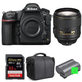 Nikon D850 + 105mm f/1.4E ED + SanDisk 32GB Extreme PRO UHS-II SDXC 300MB/s + 2 EN-EL15b + Camera Bag | 2 Years Warranty