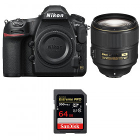 Nikon D850 + 105mm f/1.4E ED + SanDisk 64GB Extreme PRO UHS-II SDXC 300MB/s | 2 Years Warranty
