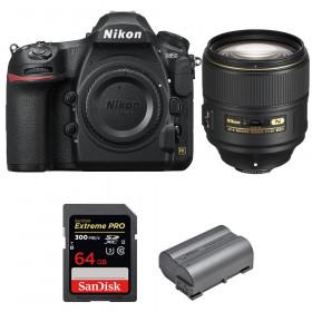 Nikon D850 + 105mm f/1.4E ED + SanDisk 64GB Extreme PRO UHS-II SDXC 300MB/s + EN-EL15b