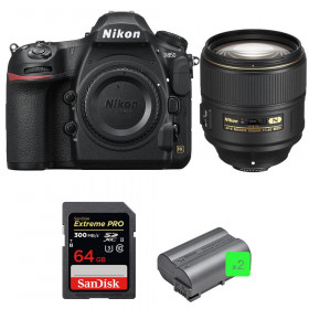 Nikon D850 + 105mm f/1.4E ED + SanDisk 64GB Extreme PRO UHS-II SDXC 300MB/s + 2 EN-EL15b | 2 Years Warranty