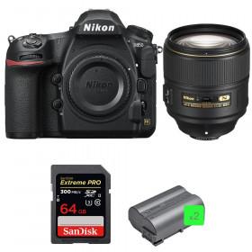 Nikon D850 + 105mm f/1.4E ED + SanDisk 64GB Extreme PRO UHS-II SDXC 300MB/s + 2 EN-EL15b