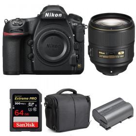 Nikon D850 + 105mm f/1.4E ED + SanDisk 64GB Extreme PRO UHS-II SDXC 300MB/s + EN-EL15b + Camera Bag | 2 Years Warranty
