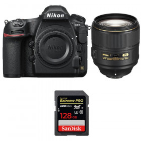 Nikon D850 + 105mm f/1.4E ED + SanDisk 128GB Extreme PRO UHS-II SDXC 300MB/s | 2 Years Warranty