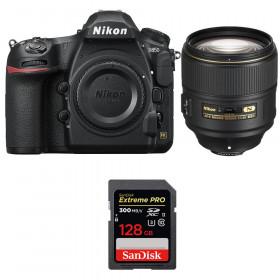 Nikon D850 + 105mm f/1.4E ED + SanDisk 128GB Extreme PRO UHS-II SDXC 300MB/s