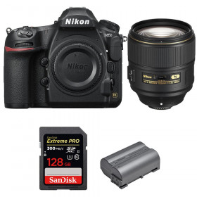 Nikon D850 + 105mm f/1.4E ED + SanDisk 128GB Extreme PRO UHS-II SDXC 300MB/s + EN-EL15b | 2 Years Warranty