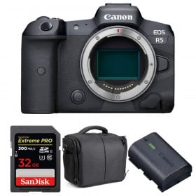 Canon EOS R5 Body + SanDisk 32GB Extreme PRO UHS-II SDXC 300 MB/s + Canon LP-E6NH + Bag   2 Years warranty