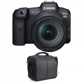 Appareil photo hybride Canon R5 + RF 24-105mm f/4L IS USM + Sac