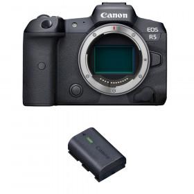 Canon EOS R5 Body + 1 Canon LP-E6NH   2 Years warranty