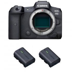 Canon EOS R5 Body + 2 Canon LP-E6NH   2 Years warranty