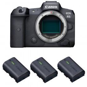 Canon EOS R5 Cuerpo + 3 Canon LP-E6NH | 2 años de garantía