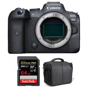 Canon EOS R6 Nu + SanDisk 64GB Extreme PRO UHS-II SDXC 300 MB/s + Sac