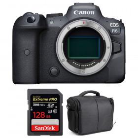 Canon EOS R6 Nu + SanDisk 128GB Extreme PRO UHS-II SDXC 300 MB/s + Sac