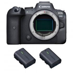 Canon EOS R6 Nu + 2 Canon LP-E6NH