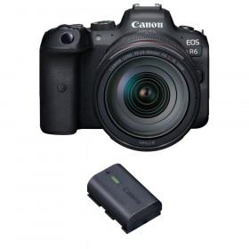 Canon EOS R6 + RF 24-105mm f/4L IS USM + 1 Canon LP-E6NH