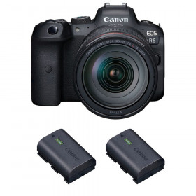 Canon EOS R6 + RF 24-105mm f/4L IS USM + 2 Canon LP-E6NH