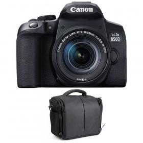 Canon EOS 850D + EF-S 18-55mm f/4-5.6 IS STM + Bolsa | 2 años de garantía