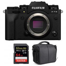Fujifilm X-T4 Nu Noir + SanDisk 64GB UHS-I SDXC 170 MB/s + Sac