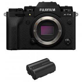 Fujifilm X-T4 Nu Noir + 1 Fujifilm NP-W235