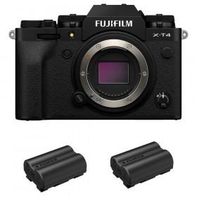 Fujifilm X-T4 Body Black + 2 Fujifilm NP-W235 | 2 Years Warranty