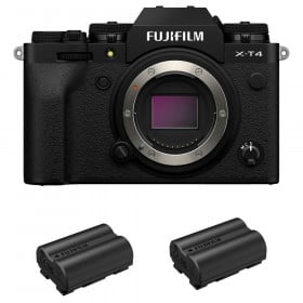 Fujifilm X-T4 Nu Noir + 2 Fujifilm NP-W235