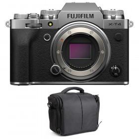 Fujifilm X-T4 Cuerpo Silver + Bolsa