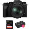 Fujifilm X-T4 Black + XF 16-80mm f/4 R OIS WR + SanDisk 256GB UHS-I SDXC 170 MB/s + 2 Fujifilm NP-W235   2 Years Warranty