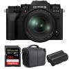 Fujifilm X-T4 Black + XF 16-80mm f/4 R OIS WR + SanDisk 256GB UHS-I SDXC 170 MB/s + NP-W235 + Bag   2 Years Warranty
