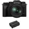 Fujifilm X-T4 Black + XF 16-80mm f/4 R OIS WR + 1 Fujifilm NP-W235   2 Years Warranty