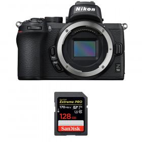 Nikon Z50 Body + SanDisk 128GB Extreme Pro UHS-I SDXC 170 MB/s | 2 Years Warranty