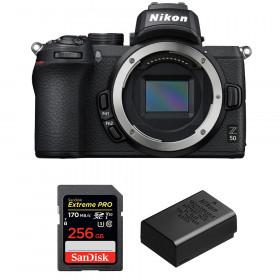 Nikon Z50 Body + SanDisk 256GB Extreme Pro UHS-I SDXC 170 MB/s + Nikon EN-EL25 | 2 Years Warranty