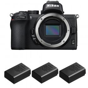 Nikon Z50 Nu + 3 Nikon EN-EL25