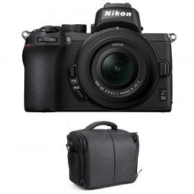 Nikon Z50 + 16-50mm f/3.5-6.3 VR + Bag | 2 Years Warranty