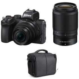 Nikon Z50 + 16-50mm + 50-250mm + Bag | 2 Years Warranty