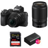 Nikon Z50 + 16-50mm + 50-250mm + SanDisk 256GB Extreme Pro UHS-I SDXC 170 MB/s + 2 Nikon EN-EL25 | 2 Years Warranty