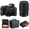 Nikon Z50 + 16-50mm + 50-250mm + SanDisk 256GB Extreme Pro UHS-I SDXC 170 MB/s + 2 Nikon EN-EL25 + Bag | 2 Years Warranty