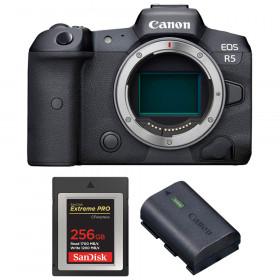 Canon EOS R5 Cuerpo + SanDisk 256GB Extreme PRO CFexpress Type B + Canon LP-E6NH | 2 años de garantía