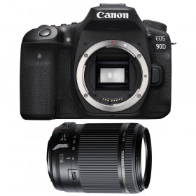Canon EOS 90D + Tamron 18-200mm f/3.5-6.3 Di II VC | 2 años de garantía