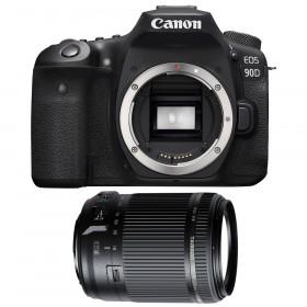 Canon EOS 90D + Tamron 18-200mm f/3.5-6.3 Di II VC