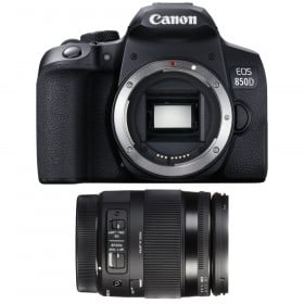 Canon EOS 850D + Sigma 18-200mm f/3.5-6.3 DC Macro OS HSM Contemporary | 2 Years Warranty