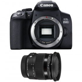 Canon EOS 850D + Sigma 17-70mm f/2.8-4 DC Macro OS HSM Contemporary | 2 Years Warranty