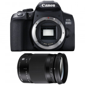 Canon EOS 850D + Sigma 18-300mm f/3.5-6.3 DC Macro OS HSM Contemporary | 2 Years Warranty