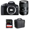 Canon EOS 850D + Tamron 16-300mm f/3.5-6.3 Di II VC PZD MACRO + SanDisk 64GB UHS-I SDXC 170 MB/s + Bag | 2 Years Warranty