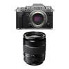 Fujifilm X-T4 Silver + XF 18-135mm f/3.5-5.6 R LM OIS WR | 2 Years Warranty