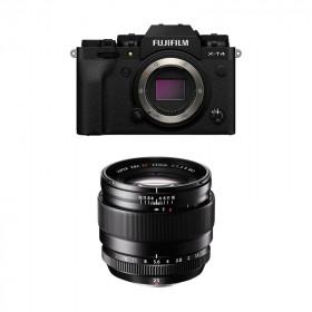 Fujifilm X-T4 Black + XF 23mm f/1.4 R | 2 Years Warranty