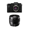 Fujifilm X-T4 Black + XF 23mm f/1.4 R | 2 Years Warranty