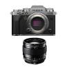 Fujifilm X-T4 Silver + XF 23mm f/1.4 R | 2 Years Warranty