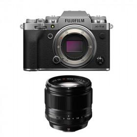 Fujifilm X-T4 Silver + XF 56mm f/1.2 R | 2 Years Warranty