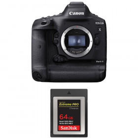 Canon EOS 1D X Mark III + SanDisk 64GB Extreme PRO CFexpress Type B | 2 Years Warranty