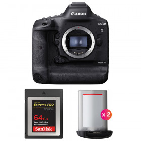 Canon EOS 1D X Mark III + SanDisk 64GB Extreme PRO CFexpress Type B + 2 Canon LP-E19 | 2 Years Warranty